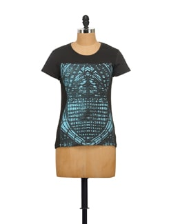 Twinkle Print T-shirt - STYLE QUOTIENT BY NOI