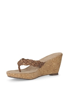 Tan Wedge Sandals - Eske