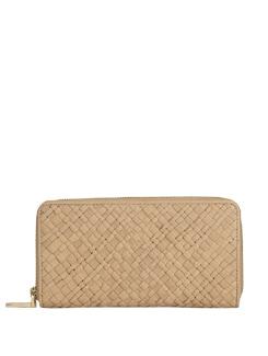 Textured Wallet In Bisque - Eske