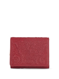 Rose Red Floral Wallet - Eske