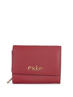 Bold Red Wallet - Eske
