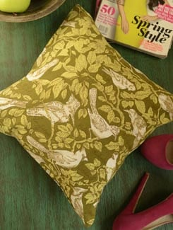 Birds Print Cushion Cover-Set Of 2 - Morning Blossom
