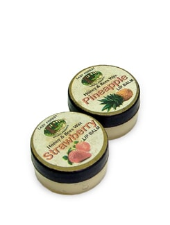 Pineapple & Strawberry Lip Balm (Set Of 2) - Last Forest