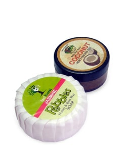 Jasmine Soap & Coconut Balm (Set of 2) - Last Forest
