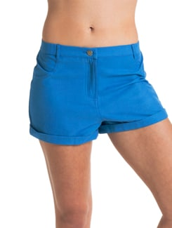 Blue Cotton Short - PrettySecrets