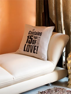 15kgs Of Love Cushion Cover - HOUSE THIS