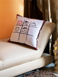 Faces Cushion Cover - HOUSE THIS