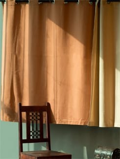 Brown Window Curtain - HOUSE THIS