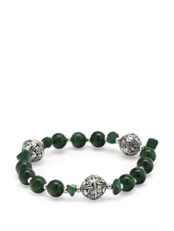 Malachite Power Bracelet - Ivory Tag