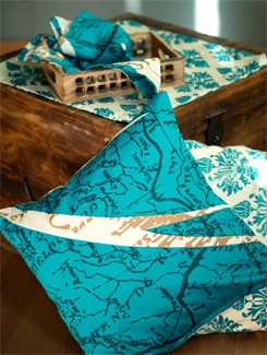 Patterned Double Bed Sheet Gift Set - HOUSE THIS