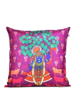 Tamara Divine Harmony Poly Silk Cushion Cover - India Circus