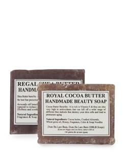 Regal Shea Butter&Cocoa Butter- Set Of 2 Handmade Soap - Dum Ba Lam Bam