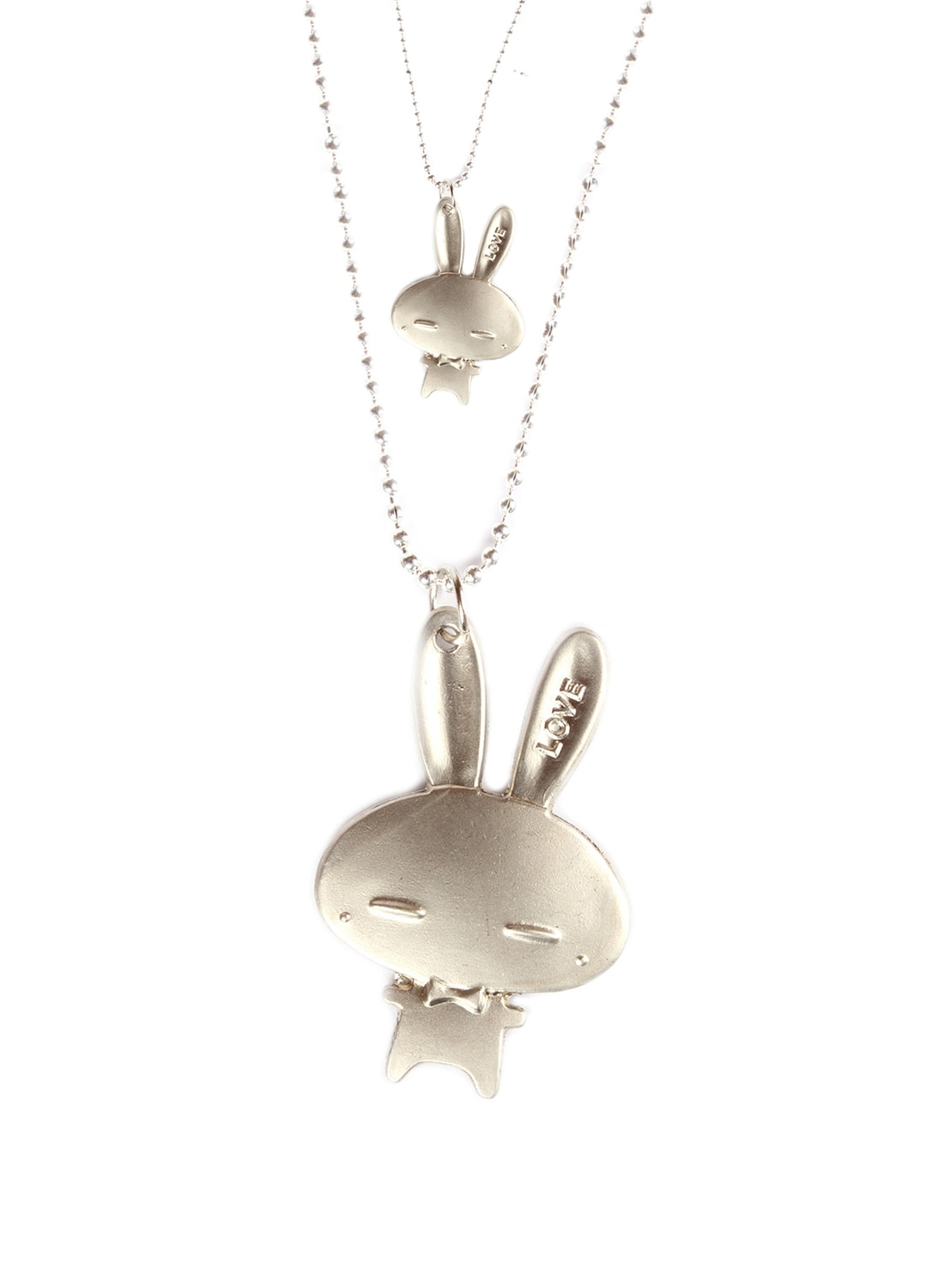 Bunnies In Love Pendant Set - DIOVANNI