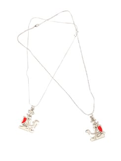 Love Dream Boat Sailors Pendant Set - DIOVANNI