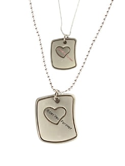 Promise To Love Pendant Set - DIOVANNI