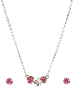Butterfly Princess 3-piece Crystal Jewellery Set - DIOVANNI