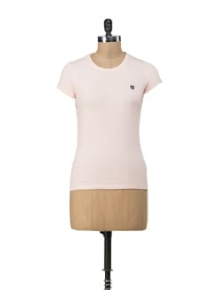 Colombia Crew Neck- Pastel Pink - American Swan