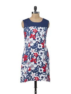 Floral Shift Dress - American Swan