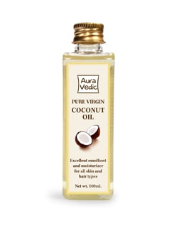 Auravedic Virgin Coconut Oil For Hair - Auravedic