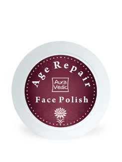 Auravedic Age Repair Face Polish With Pomegranate Grapeseed - Auravedic