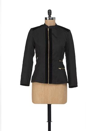 Voguish Black Jacket