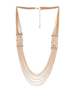 Multi-layered Gold Chain Necklace - YOUSHINE