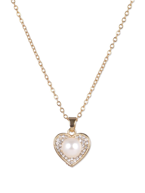 Golden Heart Pendant Necklace - YOUSHINE