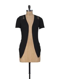 Black Lacy Shrug - ShopImagine