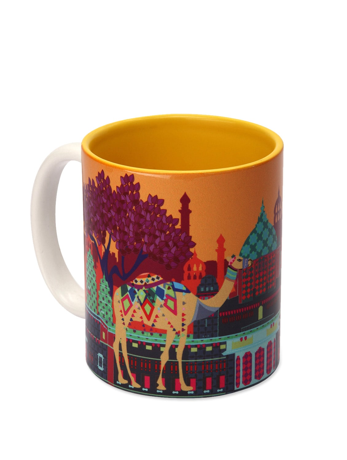 Ceramic Mug Indian Caravan Serai - The Elephant Company