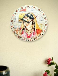 The Queen Wall Clock - Zeeshaan