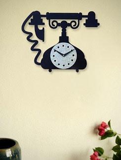Zeeshaan Tring Tring Wall Clock - Zeeshaan