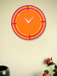 The Ring Of Colour Wall Clock - Zeeshaan