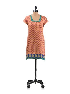 Colourful Printed Kurta - Aurelia
