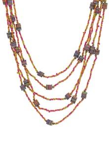Multi Boho Layered Necklace - Flaunt