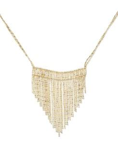 Designer Gold Necklace - THE PARI
