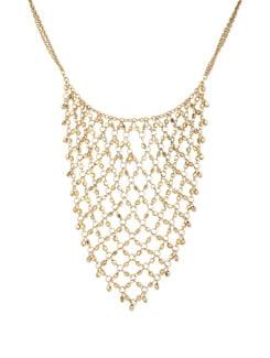 Glittering Gold Necklace - THE PARI