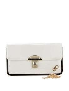 Chic Sling Bag With Golden Edges - E2O