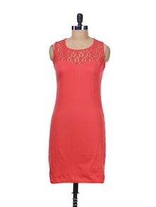 Lace Is More Bodycon Dress - Miss Chase