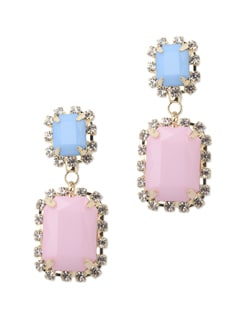 Berry-ed Treasure Drop Earrings - Miss Chase