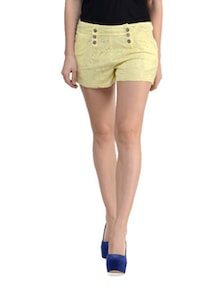 Lacey Shorts With Back Zipper - STREET 9