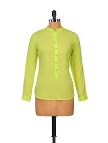 Elegant Lime Green Top - STREET 9
