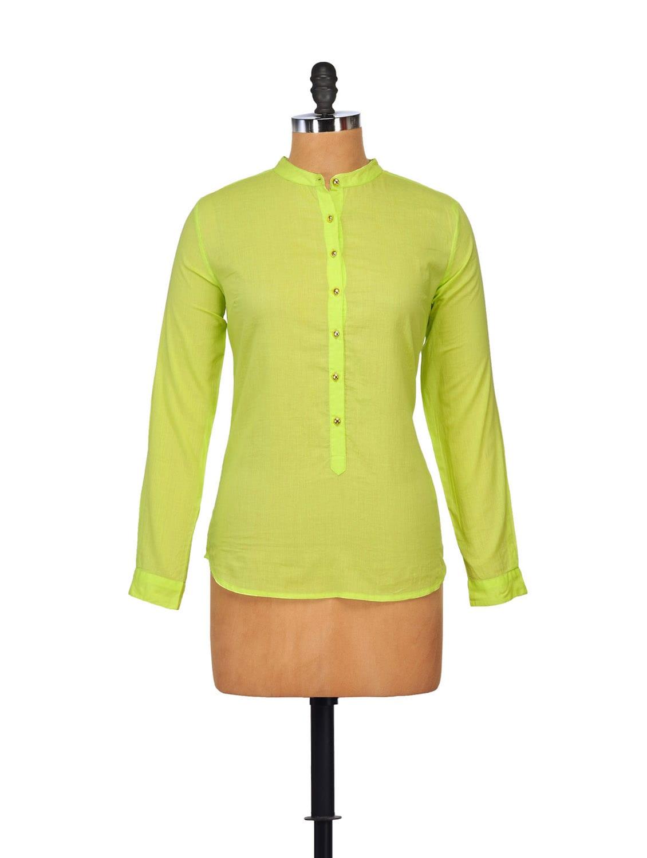 Elegant Lime Green Top - STREET 9