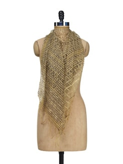 Hand Woven Silk Stole - Creative Bee