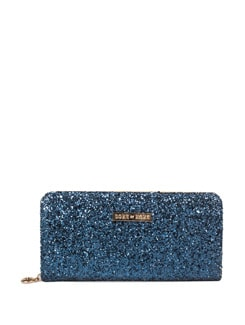 Shine Bright Midnight Blue Wallet - DONE BY NONE