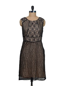 Black Net Dress - I AM FOR YOU