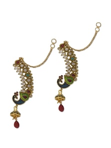 Peacock Ear Cuff Style Earrings - Trinketbag