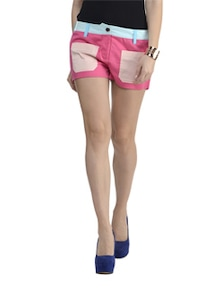 Pink Front Pocket Shorts - Schwof