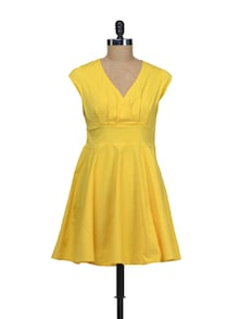 Yellow Cheer-up Dress - Schwof