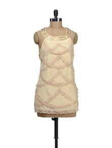 Lace Scoop Dress - Schwof