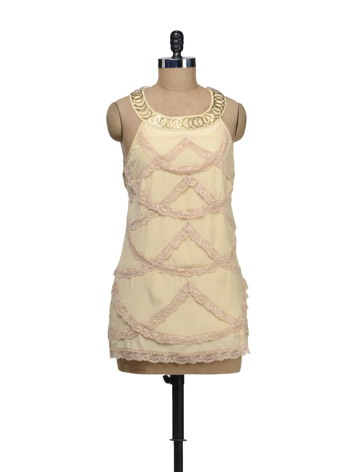 Lace Scoop Dress - Schwof